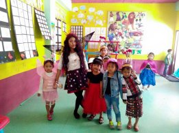 Children's Day Fancy Dress KGI Classroom