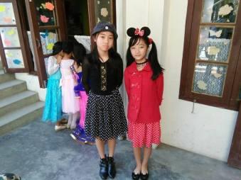 Minnie and friend