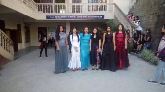 Elegant young ladies