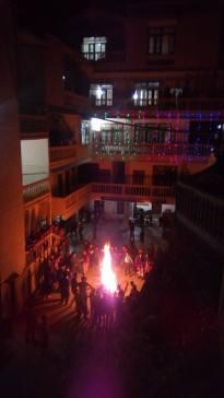 Christmas Bonfire