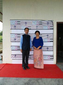 Principal and his Wife